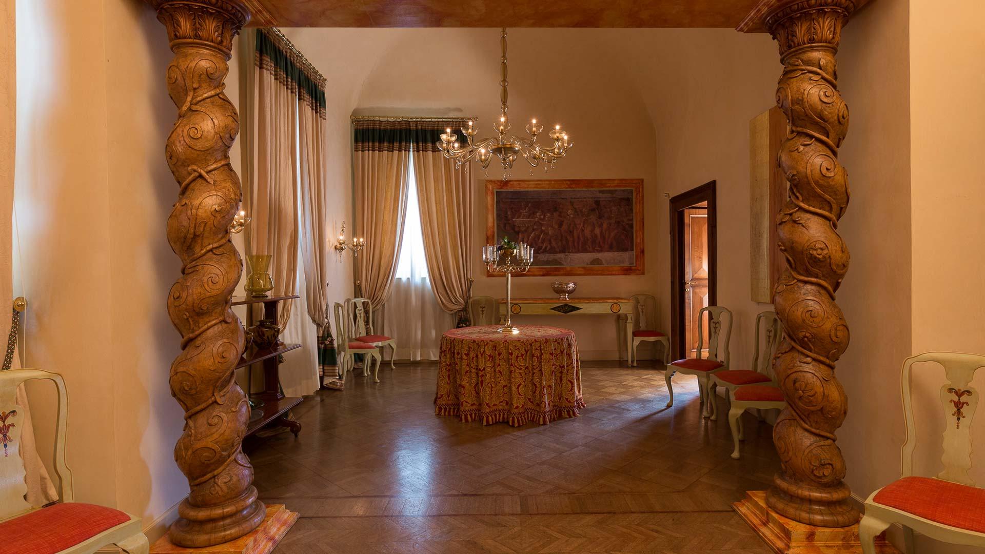 Altri ricevimenti borgo storico seghetti panichi for Nuove case con suite suocera